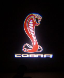 Red Mustang Cobra LED Door Projector Courtesy Puddle Logo Light