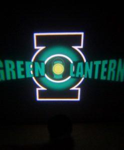 Green Lantern LED Door Projector Courtesy Puddle Logo Light
