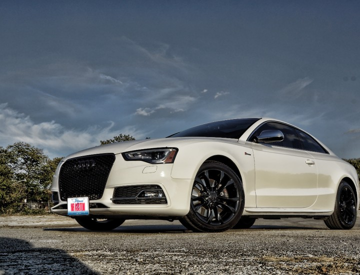 Black Powder Coated Audi S5 – Mr. Kustom Chicago