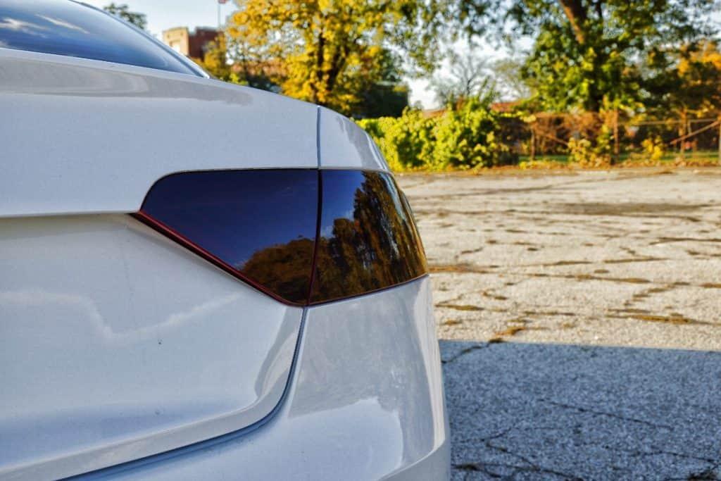 Smoked Tail Lights Audi