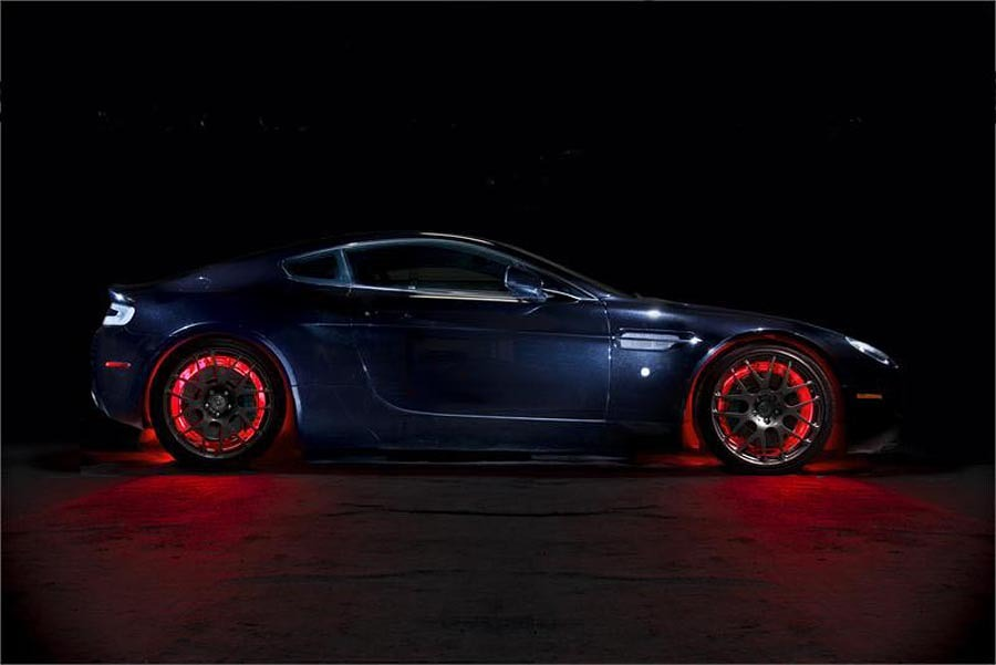 Red LED Car Wheel Lights