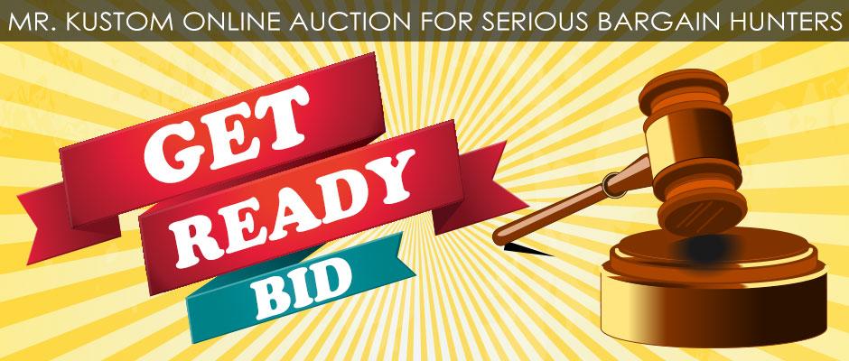Online Auctions Mr. Kustom Chicago