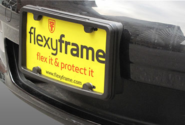 Rubber License Plate Frames