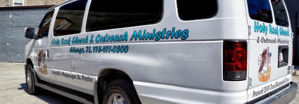 Church Van Graphics Chicago Running Boards Chicago