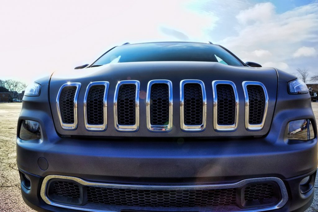 Custom Vinyl Wrap Jeep Grand Cherokee Chicago