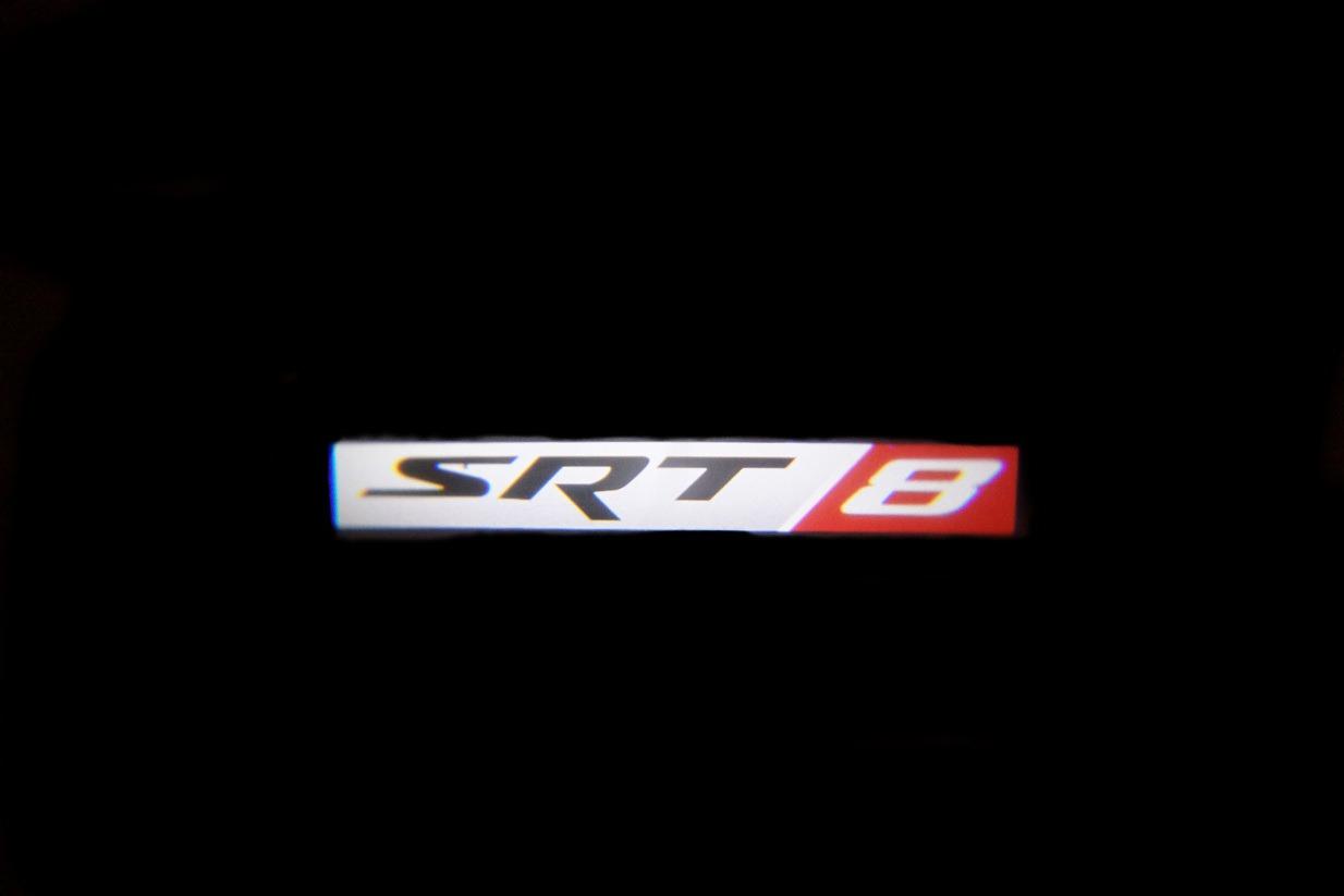 Srt8 Badge Led Door Projector Courtesy Puddle Logo Lights
