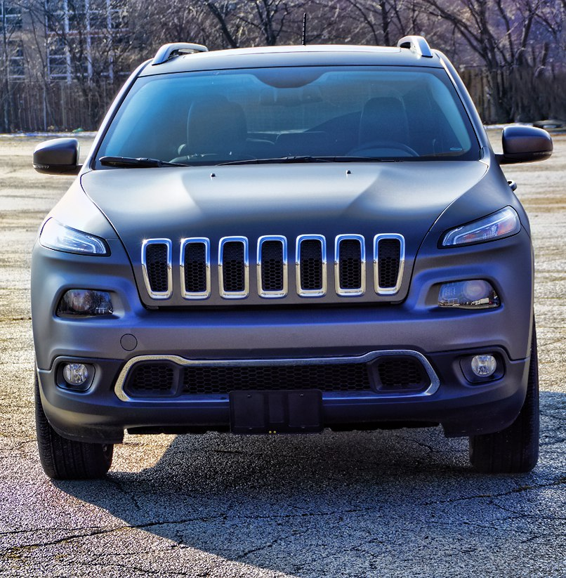 Vinyl Matte Gray Wrap Jeep Grand Cherokee