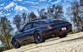 Black Powder Coated Porsche Rims