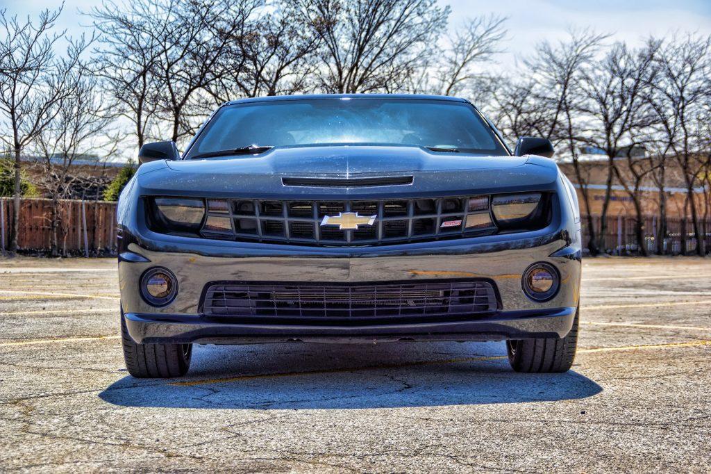 Camaro Smoked Headlights