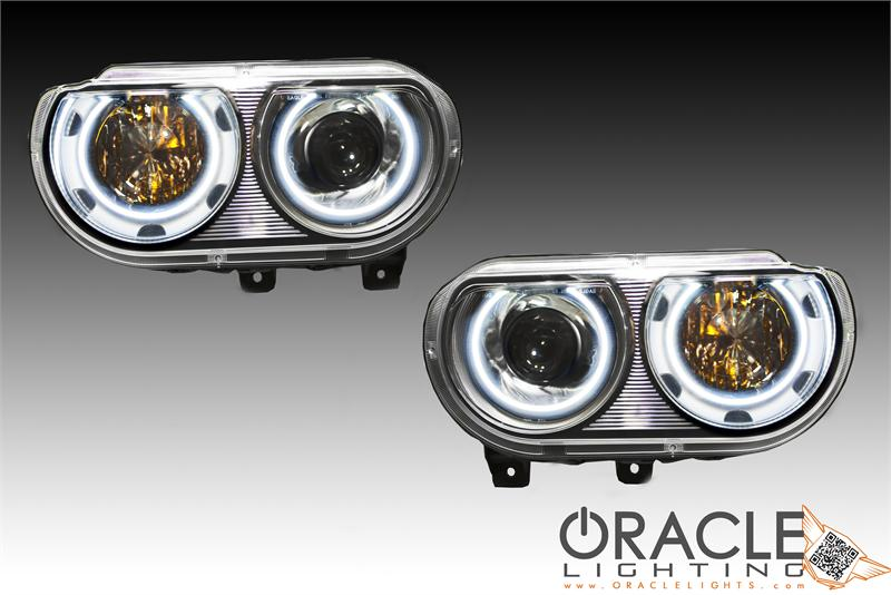 Challenger Depo Oracle Headlights Projector