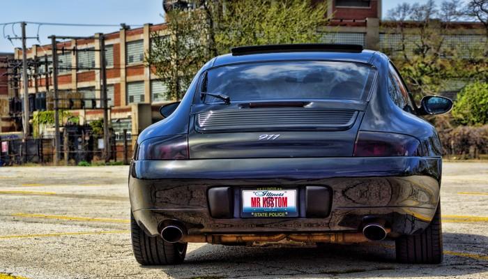 Porsche Carrera 911 Smoked Tail Lights