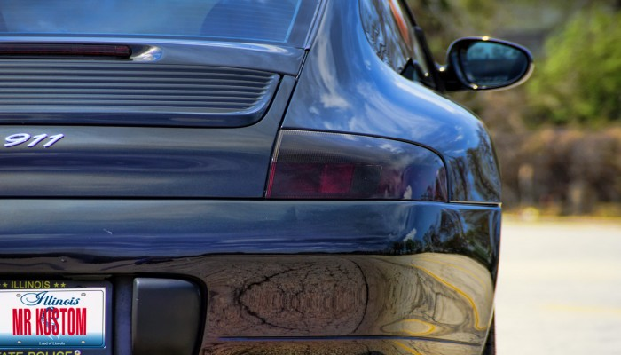 Porsche Smoked Tail Light
