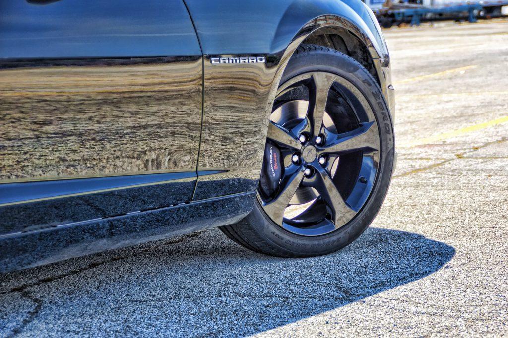 Powder Coated Camaro Rims