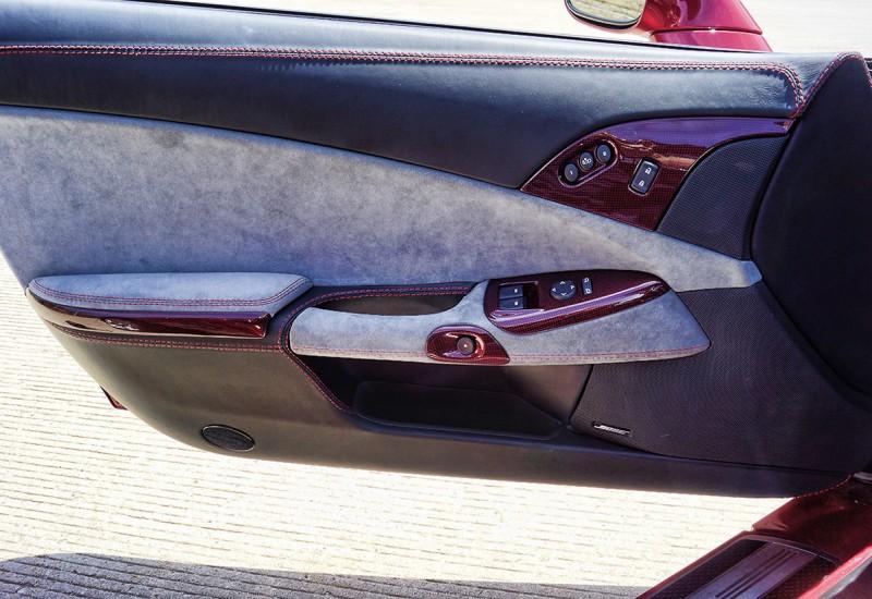 Corvette Custom Door Panel
