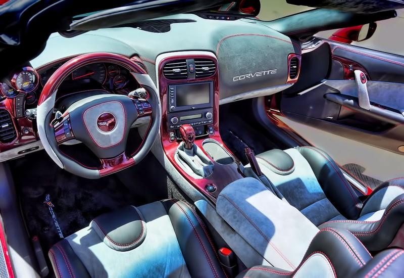 Corvette Custom Interior Mr Kustom Chicago