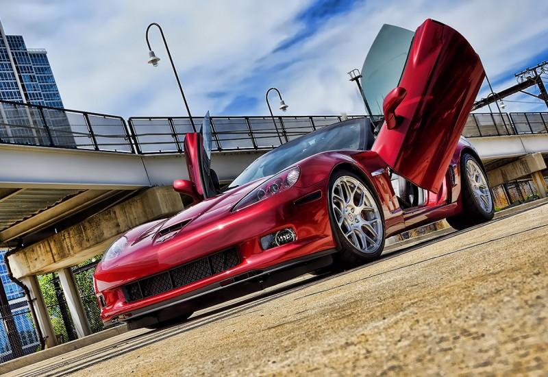 Corvette Custom Lambo Vertical Doors
