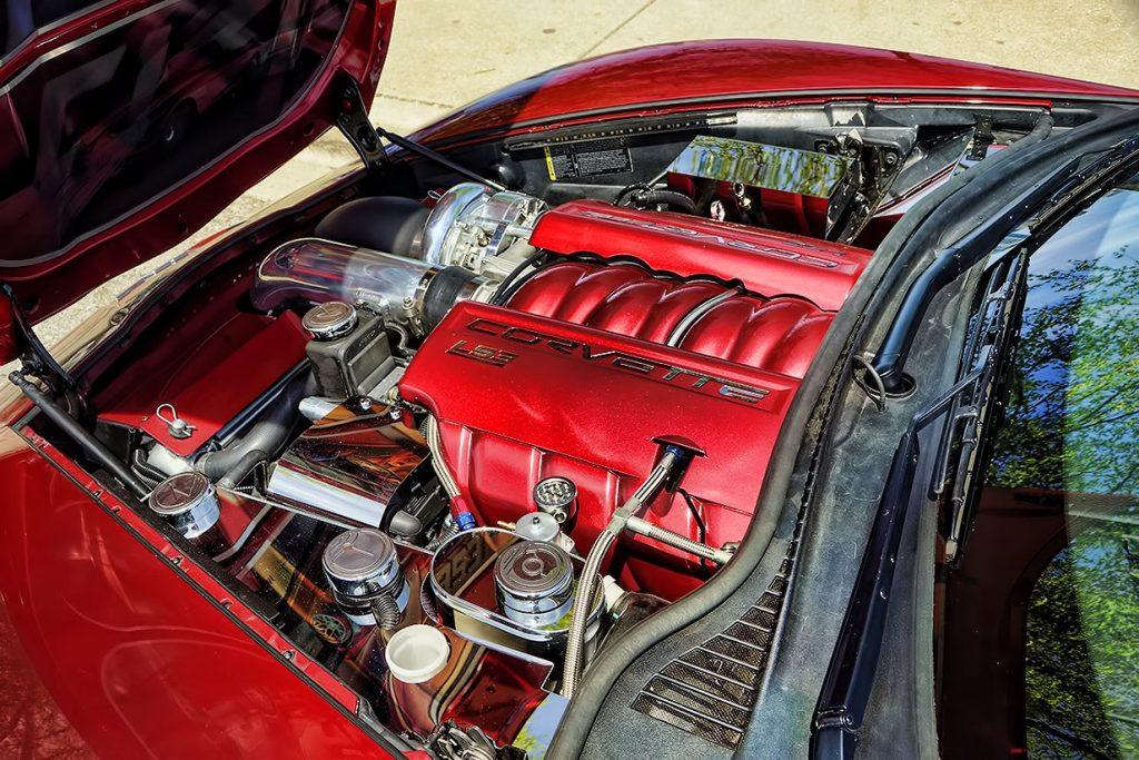 Corvette Grand Sport Engine Dress Up