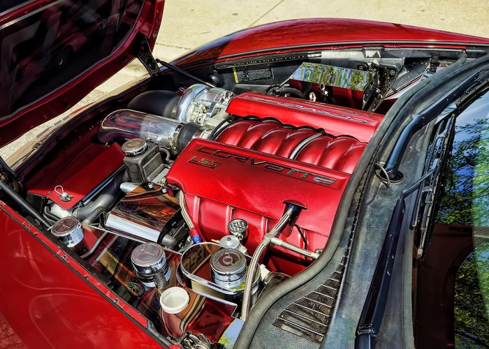 Corvette Grand Sport Engine Dress Up