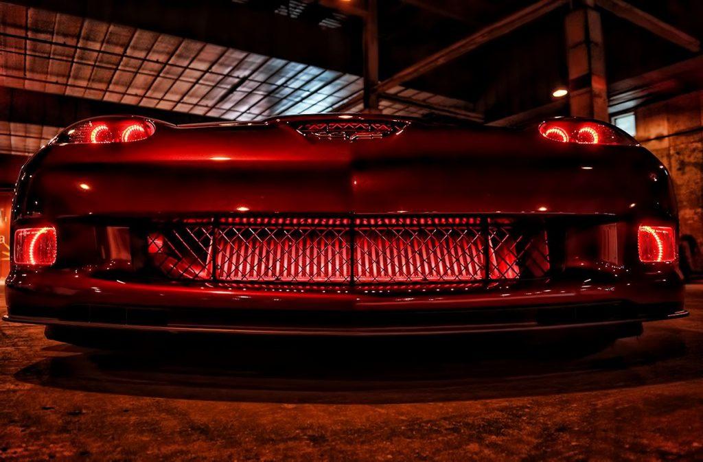 Corvette Red Halo Lights