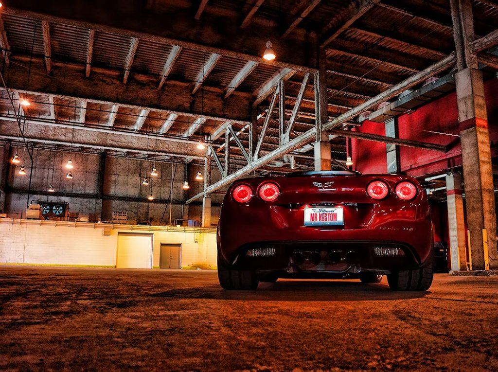 Corvette Smoked Tail Lights Corsa Exhaust