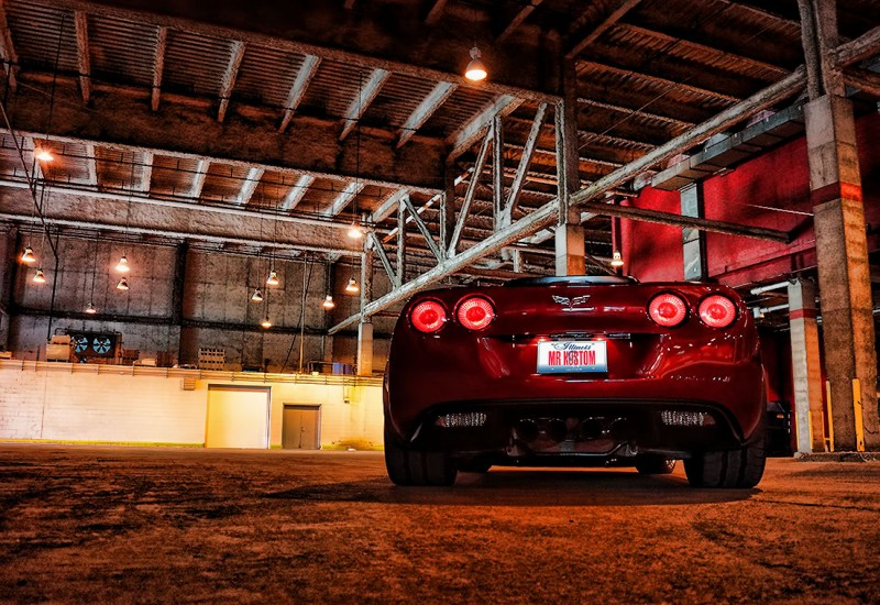 Corvette Smoked Tail Lights Corsa Exhaust