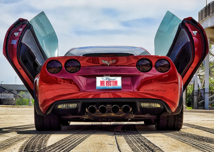 Corvette Smoked Tail Lights Lambo Doors