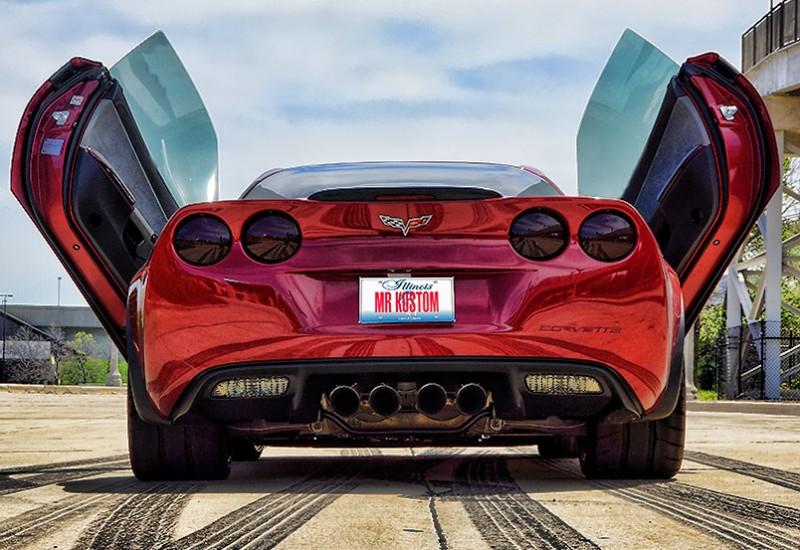 Corvette Smoked Tail Lights Lambo Doors