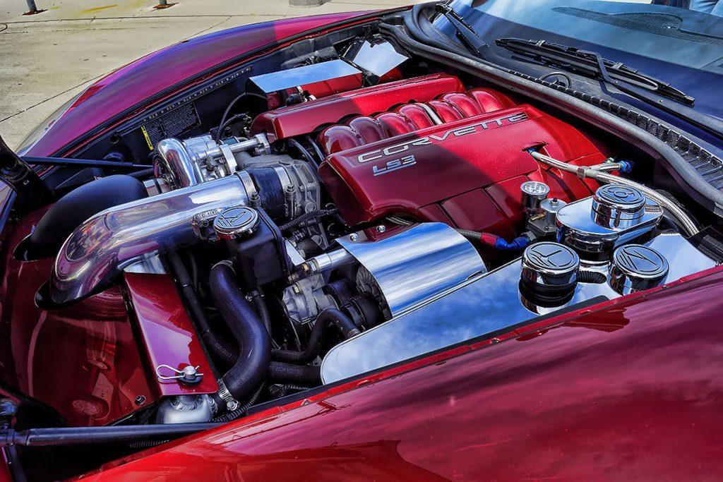 Custom Engine Dress Up Corvette