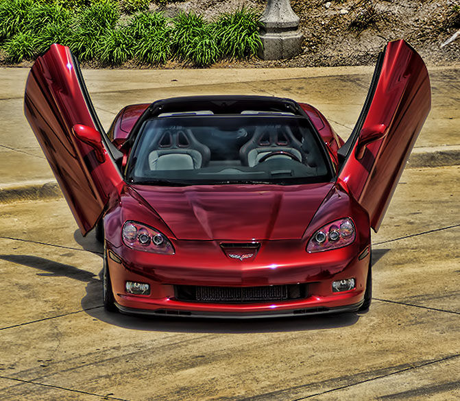 Custom Lambo Doors Corvette