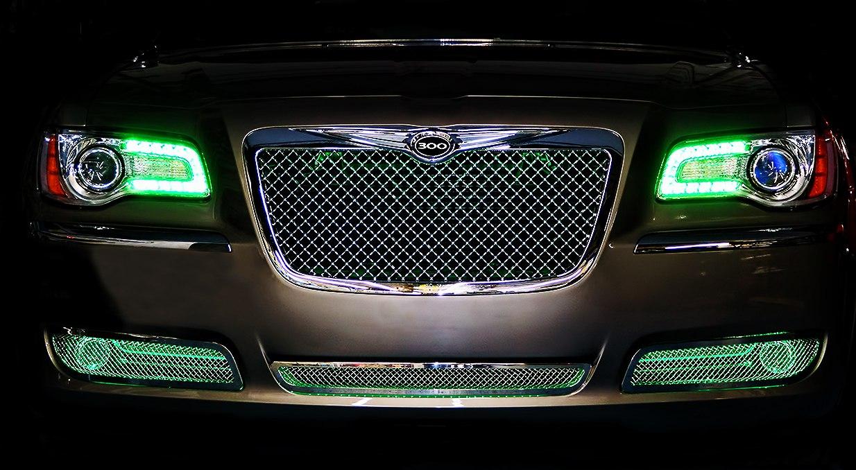 ORACLE Chrysler 300 300C 2011-2014 WHITE LED Headlight Halo Angel Eyes Kit