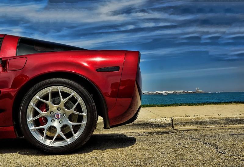 HRE Rims on Grand Sport Corvette