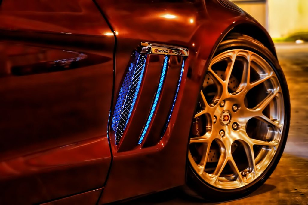 LED Side Vent Lights Corvette