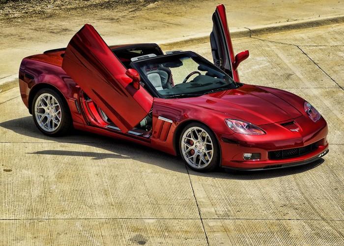 Lambo Doors Corvette Grand Sport