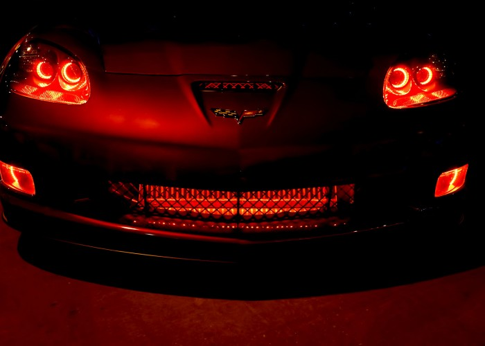 Oracle Headlight Halos Fog Light Halos Corvette