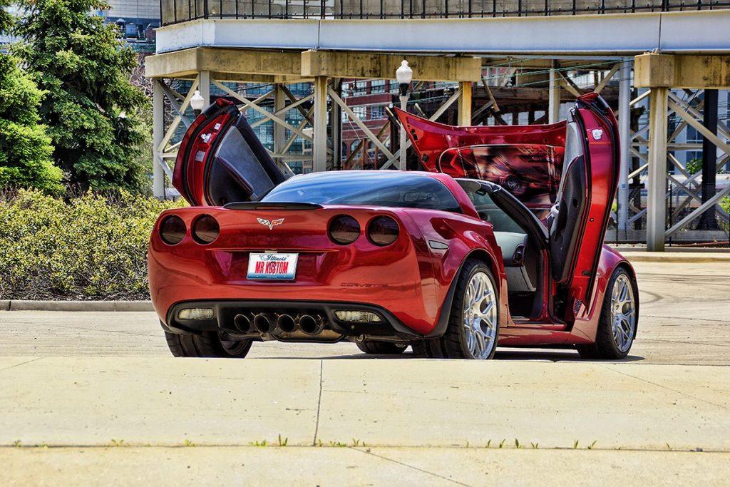 Smoked Tail Lights Custom Corvette Grand Sport