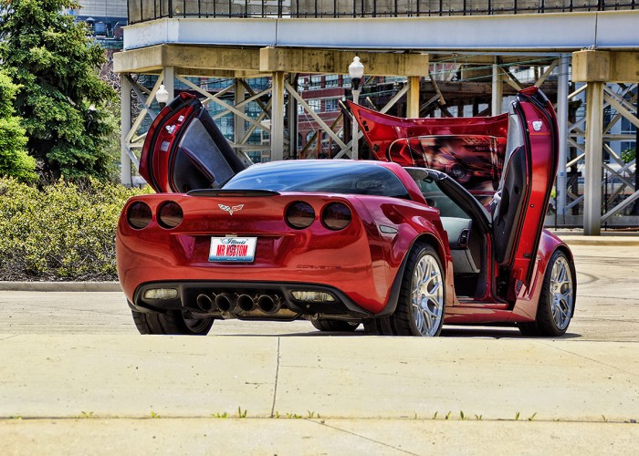 Smoked Tail Lights Custom Corvette Grand Sport