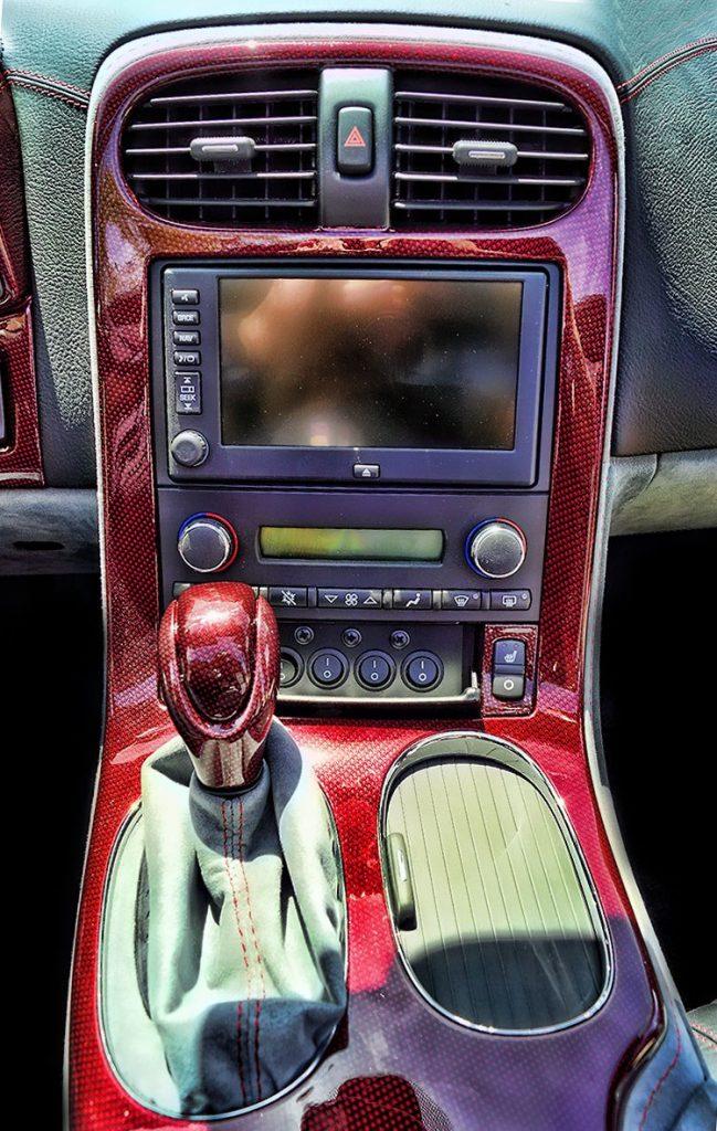 Water Transfer Printing Corvette Dash