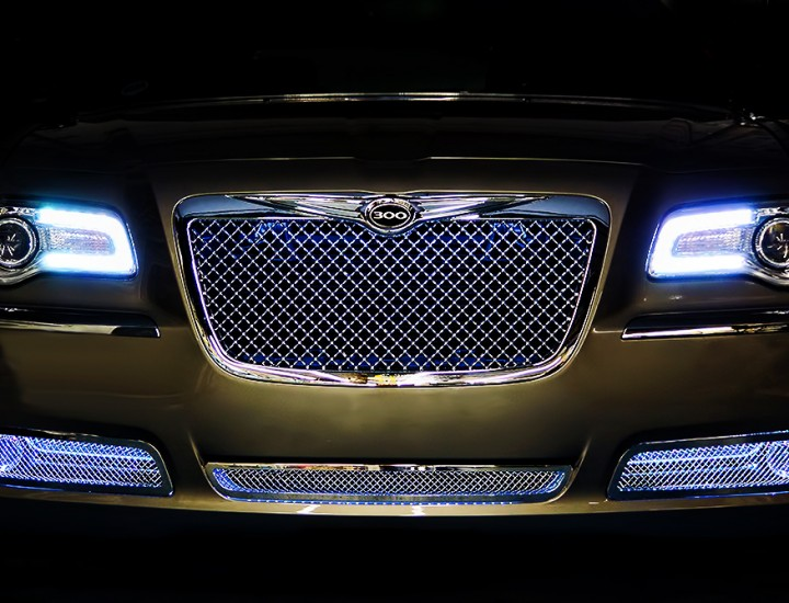 Chrysler 300 Halos Multi Color