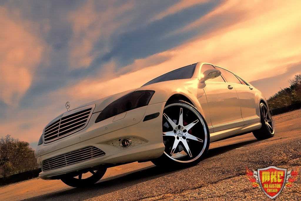 Custom Mercedes Benz S550