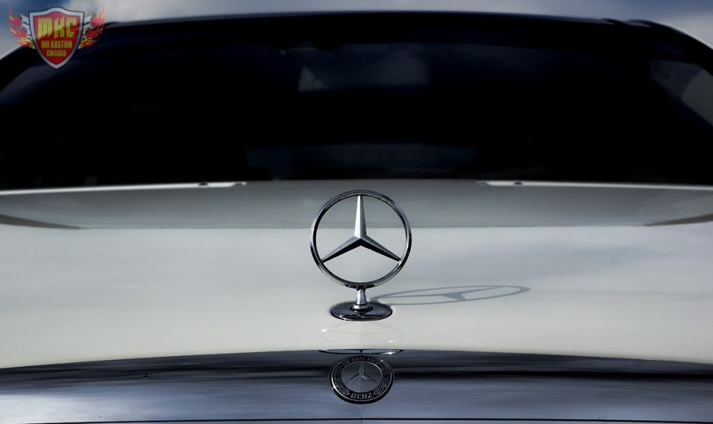 Custom Mercedes Benz S550 Hood Ornament