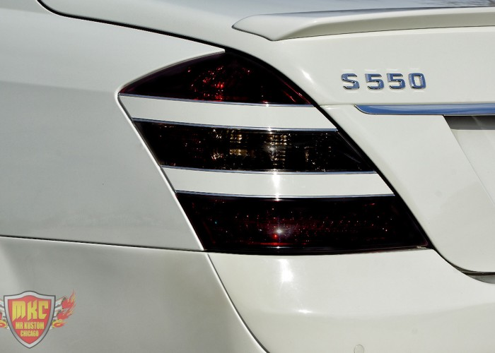 Custom Mercedes Benz S550 Smoked Tail Light
