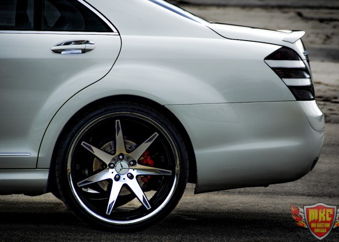 Mercedes Benz S550 Rims