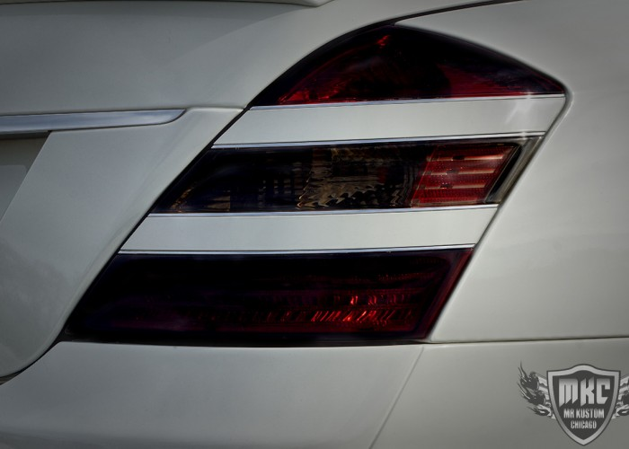 Mercedes Benz S550 Smoked Tail Light