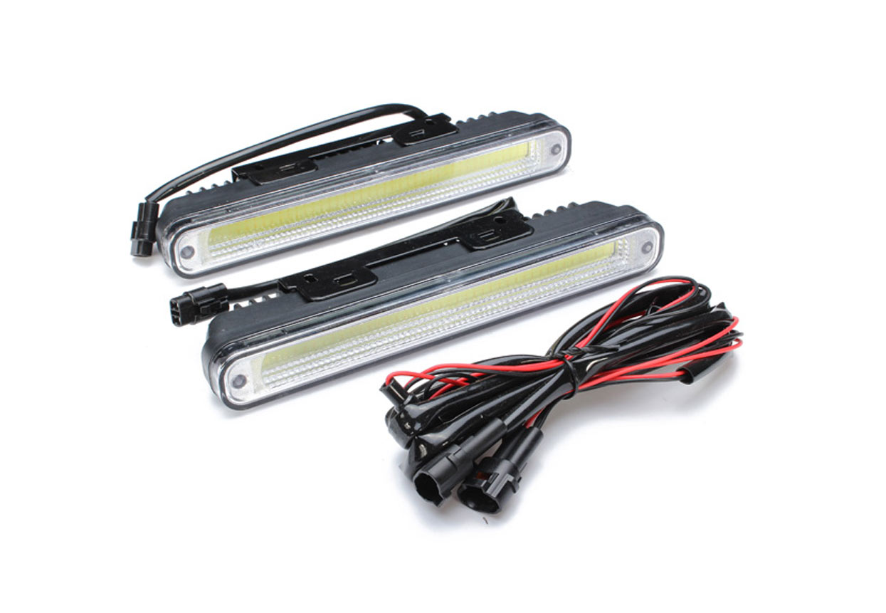 led daytime running lights cob hid white. Black Bedroom Furniture Sets. Home Design Ideas