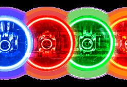 Pre-Installed Halo Lights Sealed Beam 7