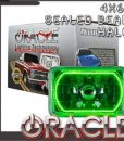Pre-Installed Green Halo Lights Sealed Beam 4x6