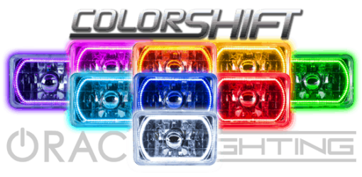 Colorshift 4x6 Pre-Installed halos