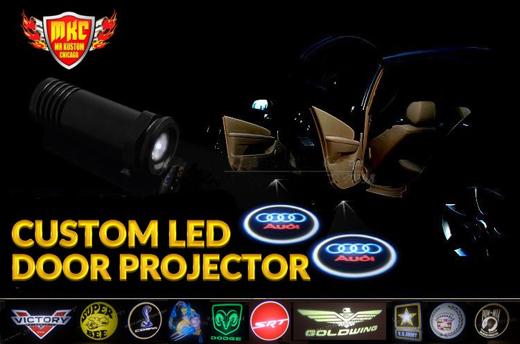 Wireless Nodrill Auto Car Truck Door Projector Led Logo