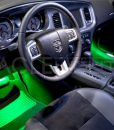 oracle_dodge_charger_green_footwell_kit_led