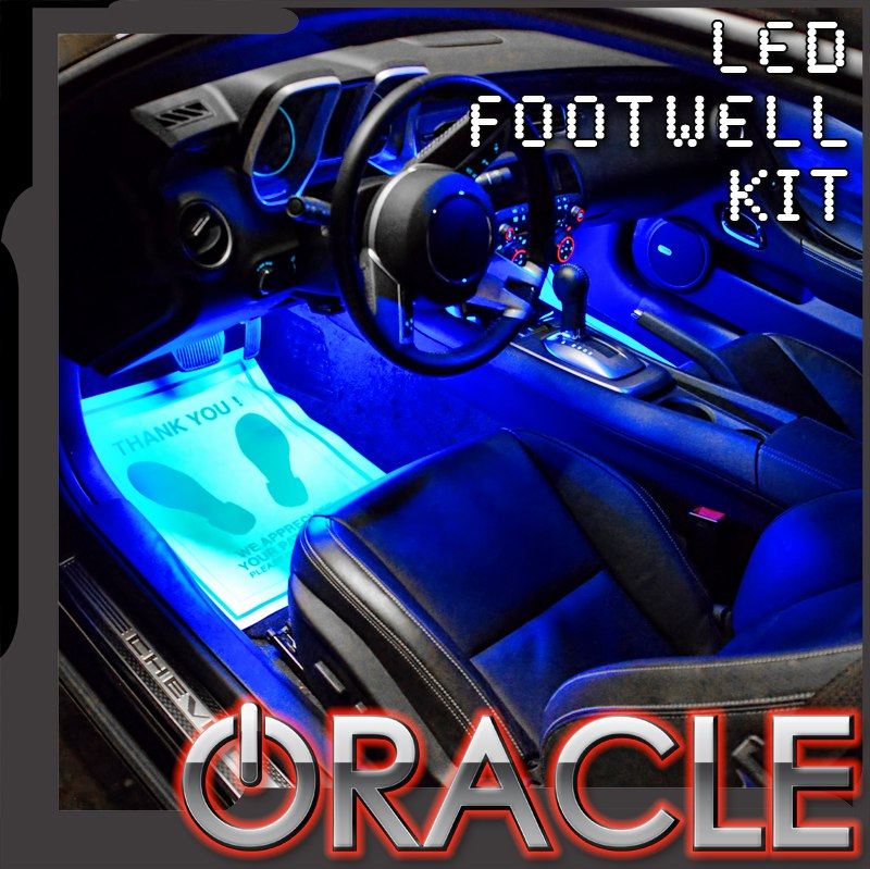 Ambient LED Lighting Footwell Kit by Oracle  sc 1 st  Mr. Kustom : oracle auto lighting - www.canuckmediamonitor.org